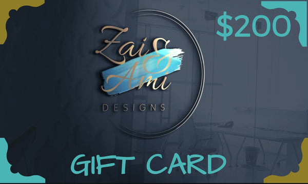 Gift Card - Zai & Ami Designs