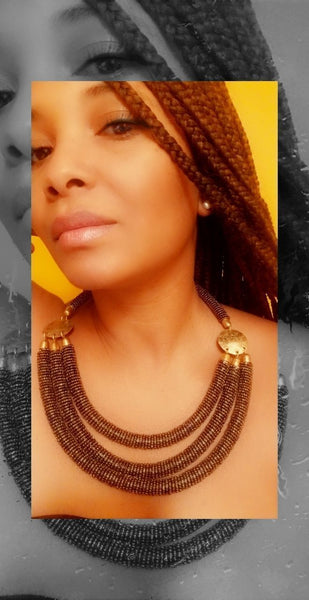 Naomi Necklace - Zai & Ami Designs