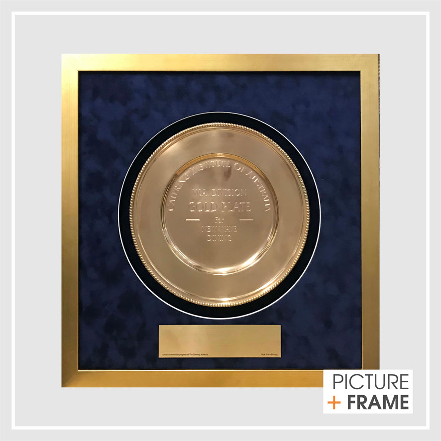 Frame your awards.