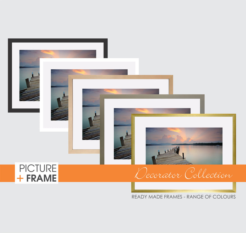 Decorator Collection - Ready Made Frames