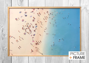 A Day at the Beach - Picture Framer Perth