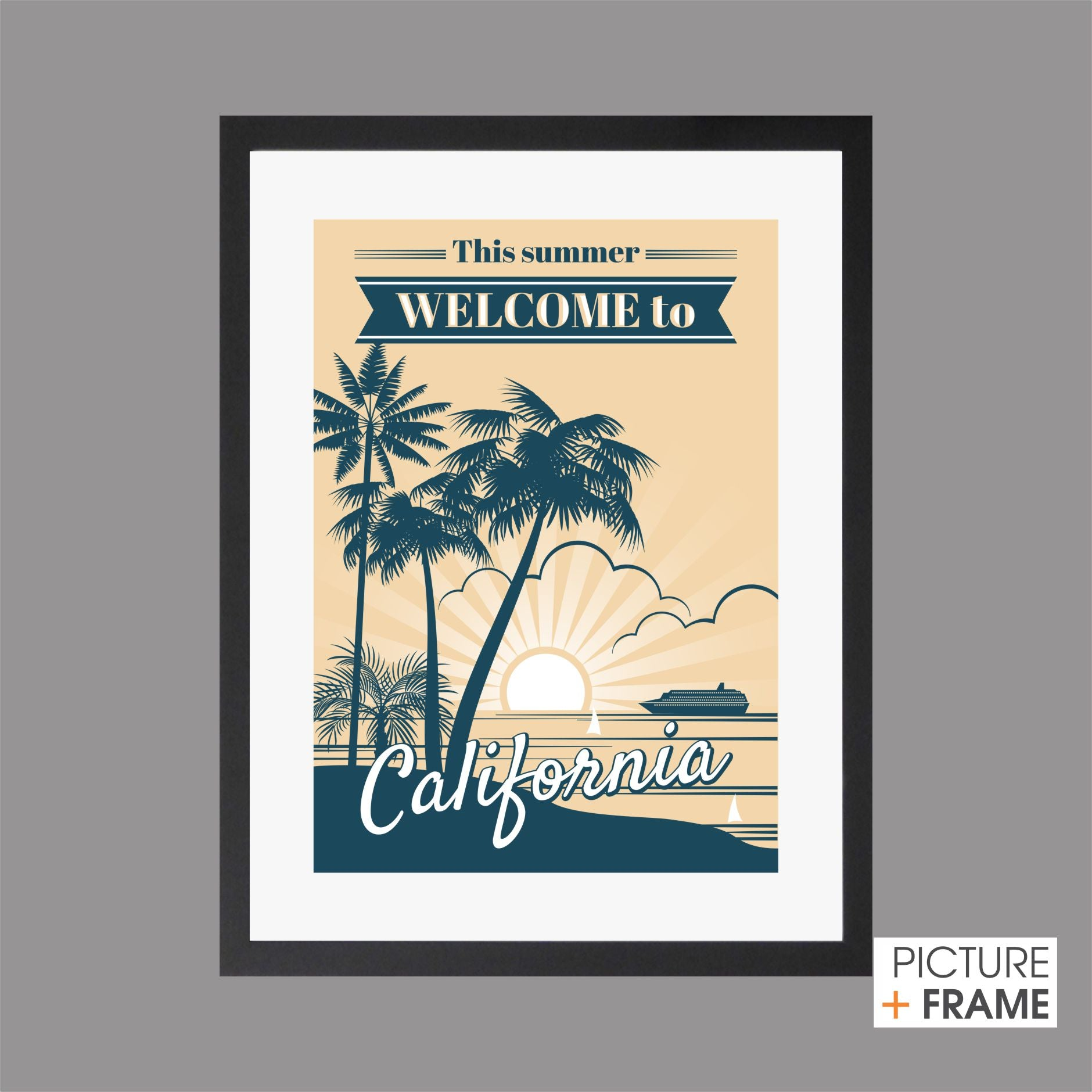 California Vintage - Picture Framer Perth