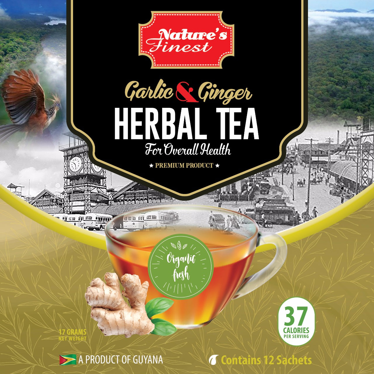 Garlic & Ginger Tea