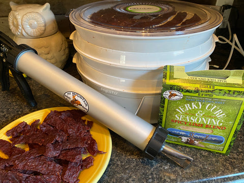The jerky gun makes life much easier when it comes to making your own venison jerky.