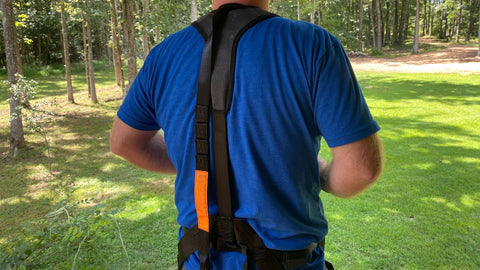 The new Shadow harness from Hunter Safety System is the latest in affordable treestand safety.