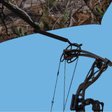 3-in-1 combo with bow hanging from bow-hook