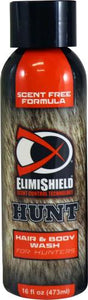 ElimiShield HUNT Hair & Body Wash For Hunters – 16oz