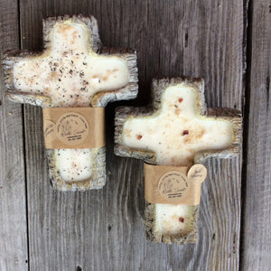 Rustic Swank- Cross Soy Candle