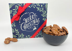 """We Wish You A Very Merry Christmas""- Cinnamon Sugar Pecans"