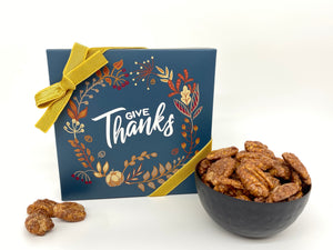"""Give Thanks""- Cinnamon Sugar Pecans"