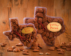 Texas Container with Pecans (Choose Your Flavor)