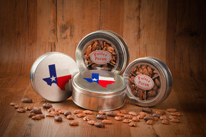 Cinnamon Sugar, Chocolate Dipped Pecans, & Salted Pecan Tin