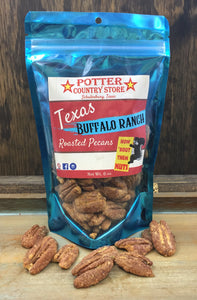 Texas Buffalo Ranch Roasted Pecans