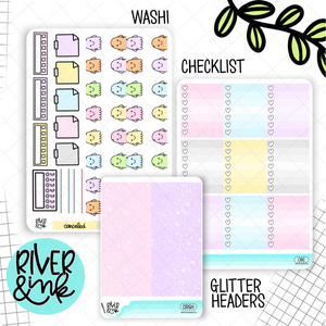 Creep It Real | Weekly Vertical Planner Stickers Kit Add Ons