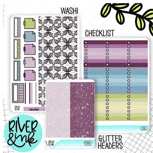 Fairy Magic | Weekly Vertical Planner Stickers Kit Add Ons