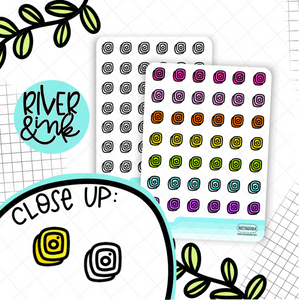 Instagram Icon | Hand Drawn Planner Sticker
