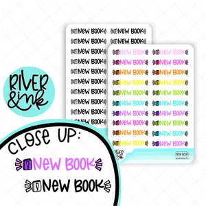 New Book | Hand Lettered Planner Stickers