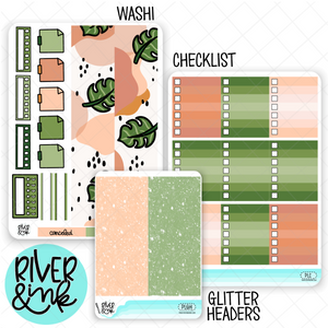 Plant Love | Weekly Vertical Planner Stickers Kit Add Ons