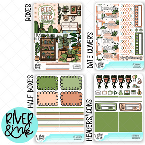Plant Love | Mini Weekly Planner Stickers Kit