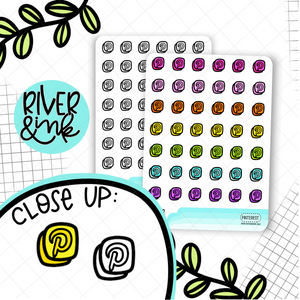 Pinterest Icon | Hand Drawn Planner Sticker