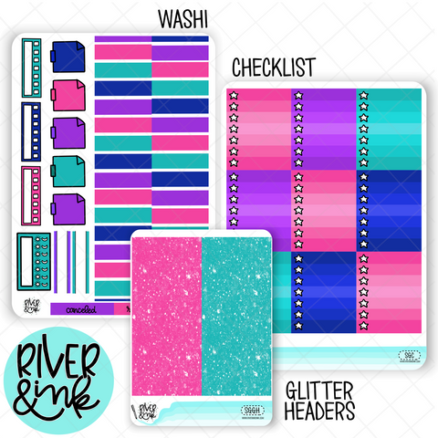 Snow Good | Weekly Vertical Planner Stickers Kit Add Ons