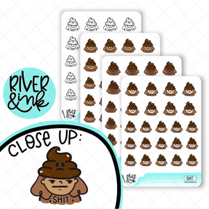 Sh*t River Girls Planner Characters | Hand Drawn Planner Stickers