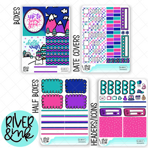 Snow Good | Mini Weekly Planner Stickers Kit