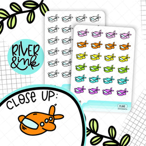 Airplane Icons | Planner Stickers