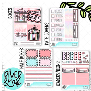 Carousel Dreams | Mini Weekly Planner Stickers Kit