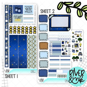 Firefly Nights Hobonichi Weeks Kit | Planner Stickers
