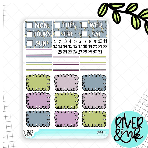 Fairy Magic | Weekly Vertical Planner Stickers Kit