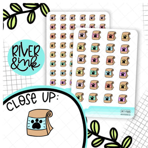 Pet Food Icon | Hand Drawn Planner Stickers