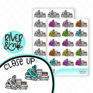 Planner Time | Hand Drawn Planner Stickers