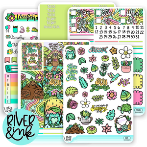Still Growing | Weekly Vertical Planner Stickers Kit