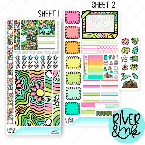 Still Growing | Hobonichi Weeks Sticker Kit Planner Stickers