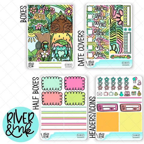 Still Growing | Mini Weekly Planner Stickers Kit