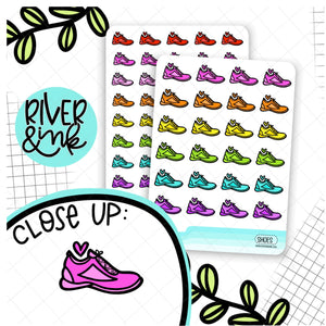 Rainbow Shoes Icon | Hand Drawn Planner Stickers