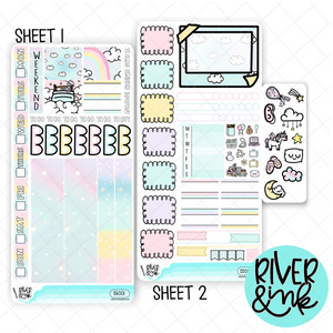 Sweet Slumber | Hobonichi Weeks Sticker Kit Planner Stickers