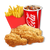 3 Piece Chicken Combo - 1 Small drink + 1 Small Fries (Available only in Upolu HYPER,MALL,UTUALII and TANUMALALA)