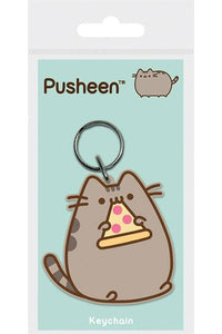Pusheen Pizza Rubber Keychain | Gear4Geeks