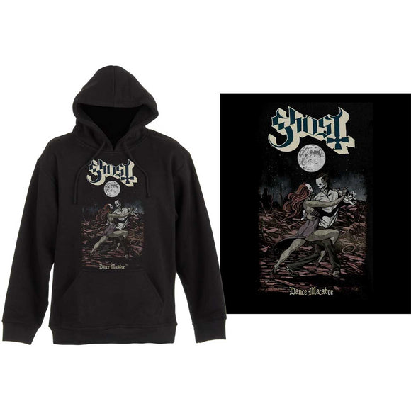 Ghost Dance Macabre Pullover Hoodie Rock, metal and alternative clothing and merch from Gear4Geeks