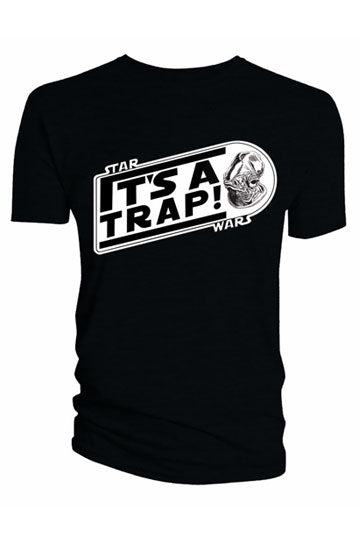 Star Wars It's A Trap T-Shirt | Gear4Geeks
