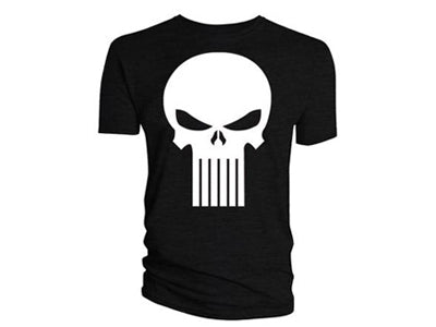 Marvel The Punisher Skull Logo T-Shirt