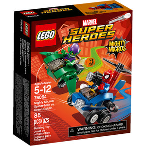 LEGO Mighty Micros: Spider-Man vs. Green Goblin 76064 - RETIRED