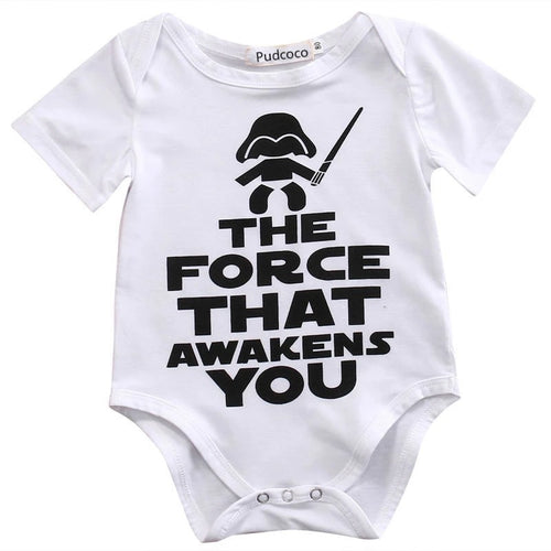 The Force That Awakens You Baby Romper