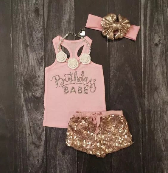 Birthday Girl 3 Piece Set