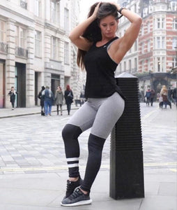 Sport Strip Style Tights