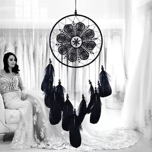 Feathered Circle Dream Catcher