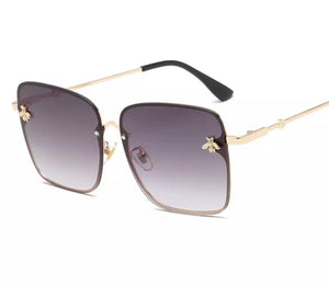 Luxury Bee Square Sunglasses