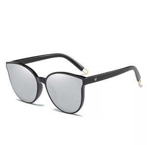 Silver Shine Mirror Sunglasses